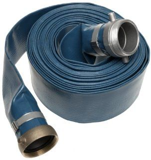 Apache Water Pump PVC Discharge Hose   3in. X 50 Feet