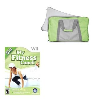 Wii   My Fitness Coach / Travel Bag Combo