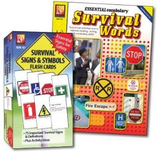 Survival Signs & Symbols Flash Cards & Activity Book; no