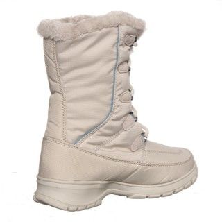 Kamik Womens Brooklyn Light Grey Cold Weather Boots FINAL SALE