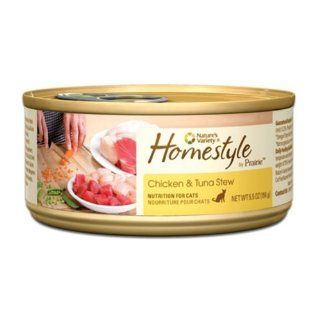 Prairie Homestyle Chicken & Tuna Stew Canned Cat Food by