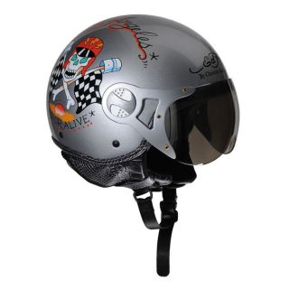 ED HARDY Casque Jet Death or Alive   Achat / Vente CASQUE ED HARDY