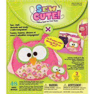 Sew Cute Owls Craft Box Kit