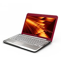 Toshiba Satellite T235D S1340 13.3 inch Red Laptop