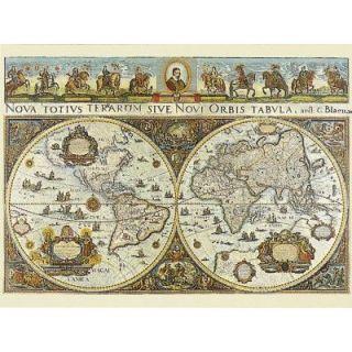 Puzzle 3000 pièces   Carte du monde, 1665   Achat / Vente PUZZLE