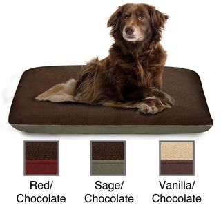 Soft Touch Microtec Suede Reversible Pet Pillow