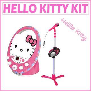 Sakar Hello Kitty Disco Party CDG Karaoke/ Microphone Stand