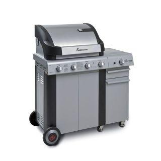 CRONOS 4+1 Barbecue gaz   Achat / Vente BARBECUE   PLANCHA CRONOS 4+1