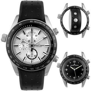 Jacques Lemans Mens Sports Dual Time Chrono Watch