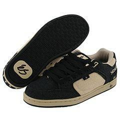 eS Norton Mens Black/Tan Shoes