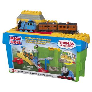 Mega Bloks Thomas and Friends All Aboard Knapford Station Play Set