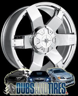 20 Inch 20x9 Ion Alloy wheels STYLE 185 Chrome wheels rims :