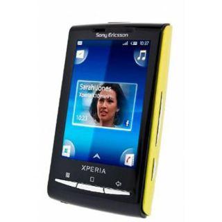 Sony Ericsson Xperia X10 Mini Yellow GSM Unlocked Cell Phone