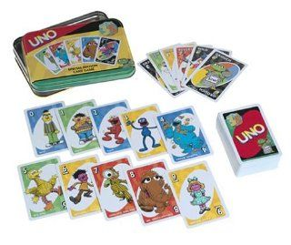 Sesame Street Uno Special Edition Card Game Toys & Games