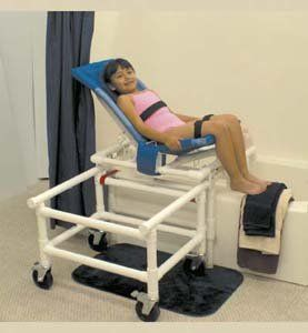 MJM International 191 M Reclining Bath Chair Health