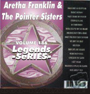 The Pointer Sisters 16 Song Karaoke CDG Legends #186 Legends Music