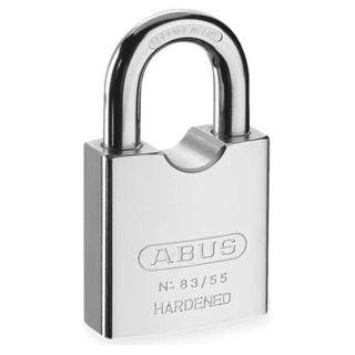 Abus 83/55 RK KD 300 Rekeyable Solid Steel Padlock, Silver