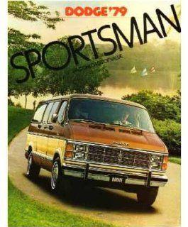 1979 Dodge Sporsman Van Sales Brochure Lieraure Book Adverisemen