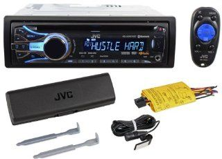 JVC KD HDR71BT Single Din CD//HD Radio Receiver With