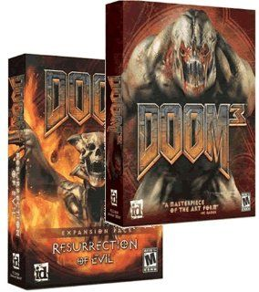 Doom 3 Gold Edition (Jewel Case) Video Games
