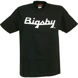 Gretsch Bigsby Logo T Shirt Black Extra Extra Large