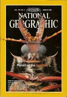 Vol. 193, No. 3, National Geographic Magazine, March 1998 Planet of