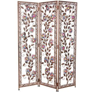 Vines of Ivory and Flowers 4.5 foot Beaded Divider (China)