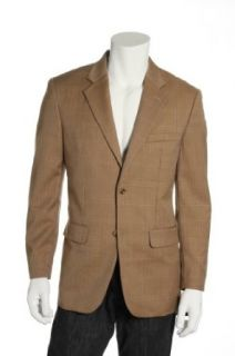 Tasso Elba Beige 2 Button Sport Coat Sports Jacket , Size