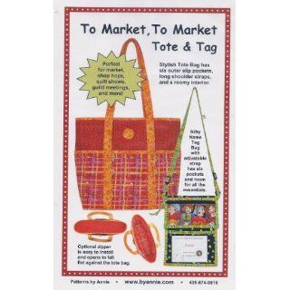To Market, To Market Tote & Tag PATTERN by Patterns by Annie PBA 189