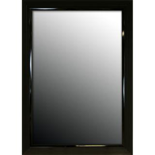 24x60 Glossy Black Stepped Petite Mirror Today $178.79 Sale $160.91