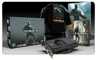 EVGA GTX 560 Ti SuperClocked 1Go + Crysis 2   Carte graphique NVIDIA