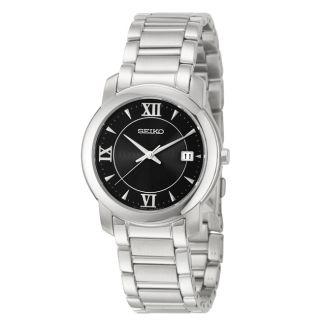 Seiko Mens Bracelet Stainless Steel Quartz Watch