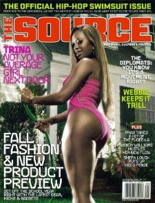 The Source Hip Hop Magazine Issue # 191 Sept 2005 Trina