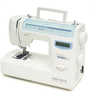 Euro Pro Deluxe 64 stitch LCD Sewing Machine
