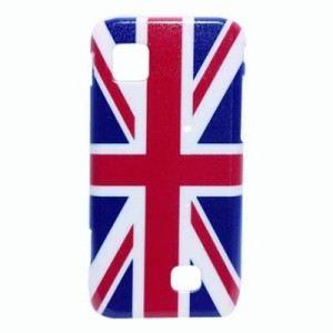 Coque Samsung wave 575 drapeau UK   Coque arrière de protection