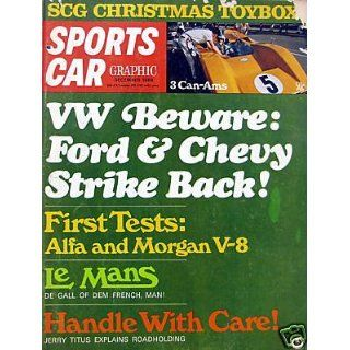 VW Beware Ford & Chevy Strike Back   December, 1968