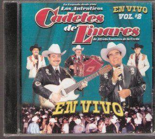 Los Cadetes De Linares En Vivo Vol 2 Cadetes De Linares