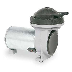 Thomas 007CDC13 Compressor Vacuum Pump, Diaphragm, 1/32 Hp