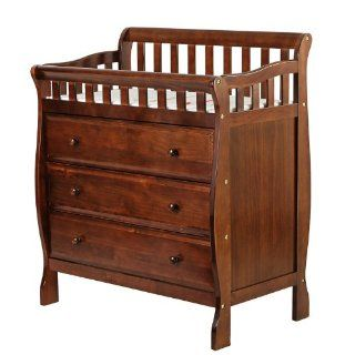 Dream On Me Marcus Changing Table, Espresso, Small Baby