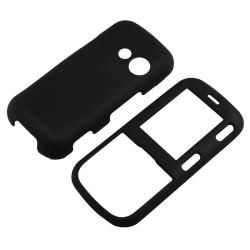 Black Case/ Screen Protector for LG Cosmos VN250/ Rumor 2 LX265