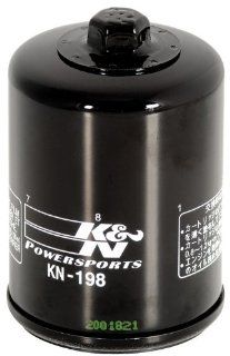 KN 198 Polaris/Victory High Performance Oil Filter