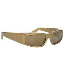 Spy Mc Gold/ Bronze Gold Mirror Lens Sunglasses