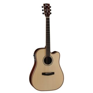 CORT Guitare Electro Acoustique Série AS M5NAT   AS M5, dreadnought