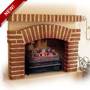 Comfort Smart 23 Deluxe Electric Fireplace Insert/Log Set