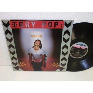 IGGY POP Soldier LP Arista 201 160 NM German Pressing