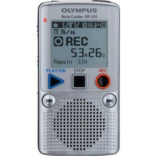 Olympus DP 201 Digial Voice Recorder Elecronics