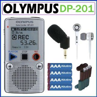 Olympus DP 201 2GB Digital Voice Recorder + Olympus