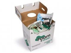 FOAM IT 202 DIY Polyurethane Spray Foam Insulation Kit