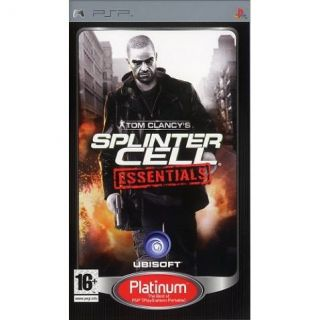 TOM CLANCYS  SPLINTER CELL ESSENTIALS / JEU CONS   Achat / Vente PSP