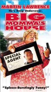 Big Mommas House [VHS]: Martin Lawrence, Nia Long, Paul